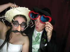 Photo Booth Rental - Funny Faces
