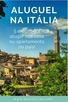 Aluguel na Itália: como alugar um apartamento ou casa. 5 dicas para alugar facilmente uma casa na Itália. #cidadaniaitaliana #morarfora #morarnaitália #itália Desktop Screenshot, Kiss, Travel Tips, Viajes, Places To Travel