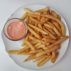 Been craving for fries these days and so tadaaa!