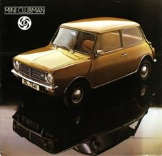 Although the Clubman was meant to be the successor to the Mini, it was the old model which stayed in production till the very end. Mini Clubman, Classic Mini, Classic Cars, Spitfire Airplane, Mini Morris, Mini Things, Old Models, Mini Me, Cool Cars