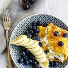 Naleśniki, banana, berry, food, foodporn, healthyfood, eatclean