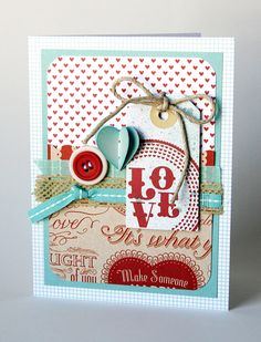 Valentines Day card - love everything about this