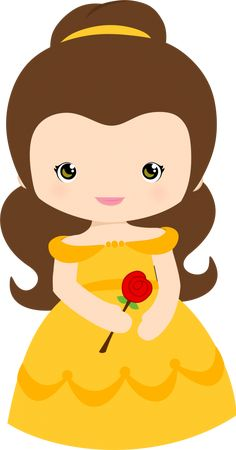Princesas disney cutes - - Minus - New Ideas Disney Princess Babies, Disney Babys, Cute Disney, Disney Art, Beauty And The Beast Party, Belle Beauty And The Beast, Disney Clipart, Cute Clipart, Clipart Baby
