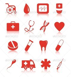 Buy Vector Set of Medical Icons on White Background by Yurlick on GraphicRiver. Vector medical icons isolated on white. Zip contain vector file and high resolution render in JPG. Medical Jokes, Medical Icon, Medical Art, Medical Design, Medical School Interview, Human Body Science, Medical Drawings, Medical Wallpaper, Gifted Education