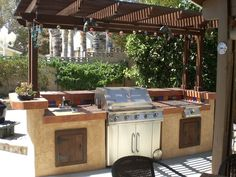 Thinking of ways to enhance your backyard? Then build an outdoor kitchen! It will encourage you to get outdoors more and there's every chance that it will also increase the value of your home! OK, this is not an over-the-weekend project... it's going to take a couple of hard weekends to complete. But we're sure it will be worth the effort. Instead of hiring a contractor to build this outdoor kitchen, doing it yourself can save you a lot on costs. Aside from not having to spend for...