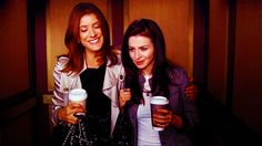 Addison Montgomery& Amelia Shepherd. I love their friendship. @Kate Walsh