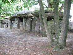 Dolmen de La Roche-aux-Fées, Essé, Ile-et-Vilaine, Brittny