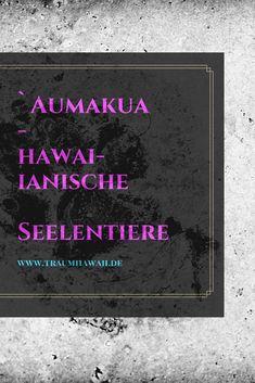 Tiere spielen eine große Rolle als spirituelle Führer oder Wegweiser in der hawaiianischen Tradition und sind Teil einer Kultur, die sowohl das Sichtbare als auch das Unsichtbare honoriert. Sie werden Aumakua genannt. Im traditionellen/alten Hawaii verschmolz der spirituelle Weg mit den belebten und unbelebten Wesen, wie Tiere, Steine, Bäume, das Meer, der Mond, die Sonne usw. Tiere galten als Boten, die Orientierung auf dem Weg und im Alltag gaben. #seelentiere #traumhawaii #aumakua Beste Hotels, Big Island Hawaii, Kauai Hawaii, Travel Agency, Beautiful Islands, Have Fun, Feelings, Nature, Inspiration Quotes