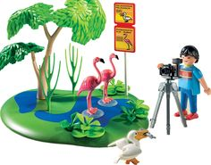 Amazon.com: Playmobil Flamingos: Toys & Games