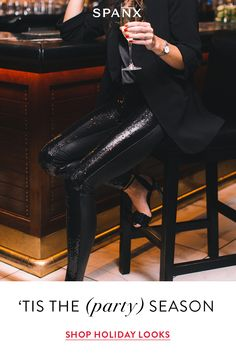 Faux Leather Sequin Leggings shine bright through the season. With our signature Power Waistband and flattering faux leather fabric, these leggings were designed to stand out. Nye Outfits, New Years Eve Outfits, Chic Outfits, Trendy Outfits, Fashion Outfits, Girly Outfits, Fashion Clothes, Love Fashion, Autumn Fashion