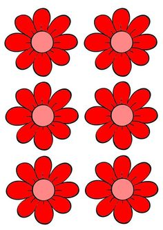 Planche 2 à 7 - Jeu des abeilles : les fleurs Spring Crafts For Kids, Summer Crafts, Diy And Crafts, Spring Activities, Color Activities, Colorful Flowers, Spring Flowers, Flower Games, Happy Birthday Printable