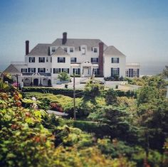 A girl in my grade just posted this on Instagram. It's the view from outside her window, Taylor's house in Rhode Island. So jealous.