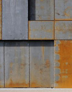 Image 10 of 33 from gallery of Hackney Marshes Centre / Stanton Williams. Photograph by David Grandorge Metal Cladding, Metal Facade, Metal Panels, Facade Architecture, Contemporary Architecture, Tile Patterns, Textures Patterns, Stanton Williams, Building Skin