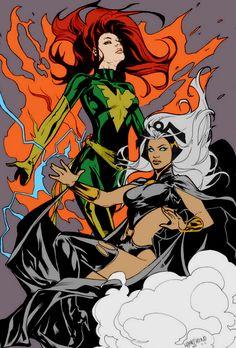 Phoenix & Storm by Emanuela Lupacchino