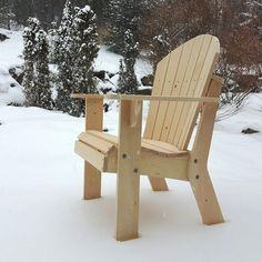 Adirondack Chair Plans #outdoorcedarfurnitureadirondackchairs
