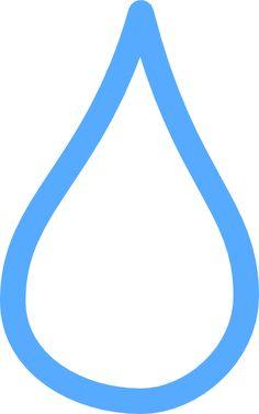 Light Blue Tear Clip Art At Clker Com Vector Clip Art Online