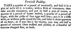 18th Century Vermicelli Pudding aka Kugel