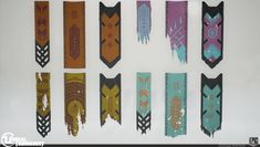 Unreal Tournament DM-Chill Banners, Josh Marlow on ArtStation at https://www.artstation.com/artwork/WlweJ