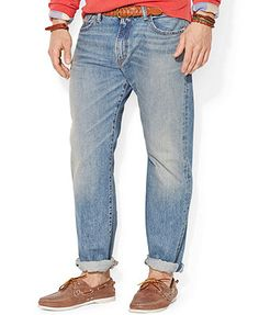 660df9e385 Polo Ralph Lauren Men s Hampton Relaxed Straight Jean   Reviews - Jeans -  Men - Macy s