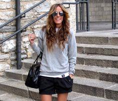 black shorts!
