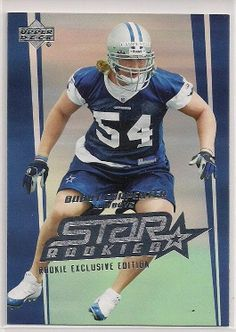 2006 Upper Deck Star Rookies Bobby Carpenter Rookie exclusive edition card # 229 #DallasCowboys