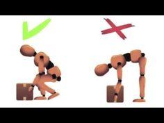 Higiene postural : la espalda. - YouTube