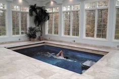 endless pools indoor designs | Mini Indoor Swimming Pool Design Ideas Endless Swimming Pools Design ...I've wanted one of these for more than 20 years.