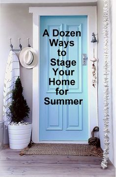 If you're selling your home, staging for summer is essential. Here are all the Summer-Staging tips you need.