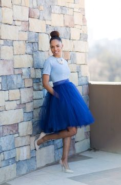 TULLE skirt with POCKETS!!!