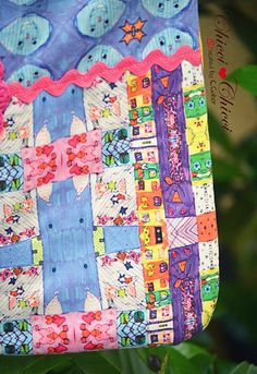 Chicci Chicci made with love: Luna´s { James Rizzi } Bag {pattern}
