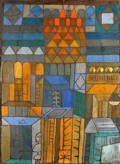 "Kunstkarte Paul Klee /""Winterbild/"""