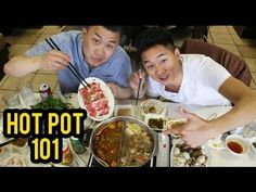FUNG BROS FOOD: Hot Pot 101 We eat this a lot but we use just garlic vinegar and oyster sauce for dipping sauce