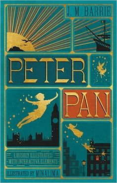 Peter Pan: beautiful limited edition with illustrations by Minalima