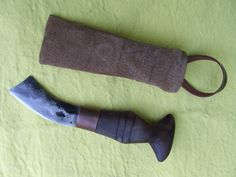 Wicca knife by RUNICforge on Etsy