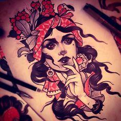 Sketch by Vitaly Morozov