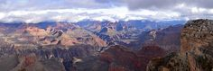 Grand Canyon Hopi Point - Storm Clearing to the East.