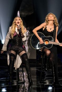 Madonna and Taylor Swift KILLED it in a duet at the iHeartRadio Music Awards