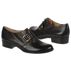Great menswear look! Women's #Naturalizer Frida Black Leather #shoes