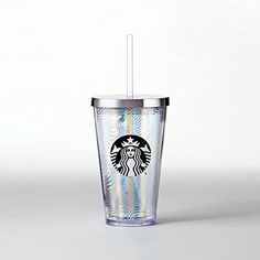 Starbucks Iridescent Waves Cold Cup 16 fl oz -- Find out more about the great product at the image link. (This is an affiliate link) Starbucks Water Bottle, Best Water Bottle, Starbucks Tumbler, Water Bottles, Copo Starbucks, Starbucks Store, Coffee Club, My Coffee, Coffee Mugs