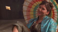 Kaylee Frye (portrayed by Jewel Staite) from Firefly