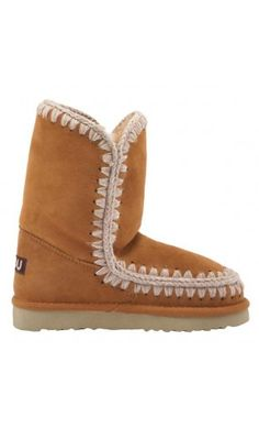 Mou Eskimo Short Boots Women Cuoio