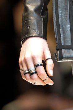 *fashion design, women apparel, accessories, jewelry, rings* - Leonard, Fall 2012.