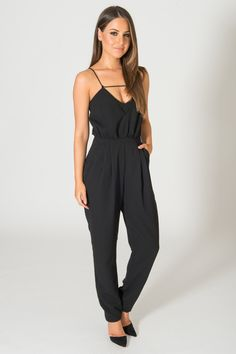 8e235eee2dee Finders Keepers The Someday Black Jumpsuit