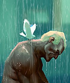 Blade Runner - Roy - Tears in rain, by Grobi Grafik...