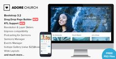 Adore Church is a full functional powerful Wordpress Theme designed & developed for Church, Charity, Non-Profit and Religious Websites and comes handy for Portfolio/Corporate Websites as well.    ...