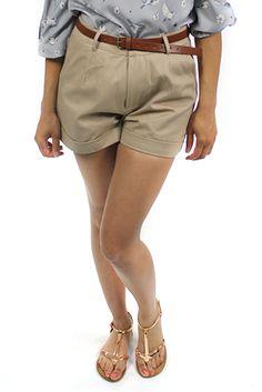 Classic Safari Shorts $48 on www.bytherapy.com