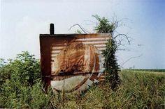 WILLIAM CHRISTENBERRY  Pepsi Cola Sign in Landscape- Near Uniontown, Alabama, 1978