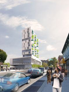 Healthy mixed use development in Brooklyn by ISA - Interface Studio Architects