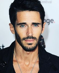 Actor Brandon Beemer arrives for the 'Fear Clinic' Premiere Screening And Q&A as part of 2014 ScreamFest held at TCL Chinese 6 Theatres on October 22 2014 in Hollywood California. Blue Hair, Dark Hair, Brandon Beemer, Wonder Man, Beautiful Men Faces, Beard No Mustache, Hollywood California, Dream Hair, Sexy Men