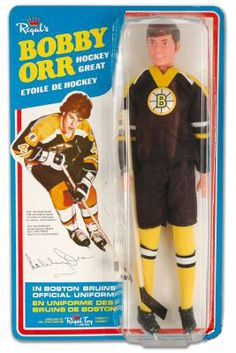 Old school Regal's Bobby Orr doll | Boston Bruins | NHL | Hockey
